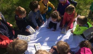 Otroci iz oddelka Kamencki, enote Studeno so raziskovali v bliznji okolici 20